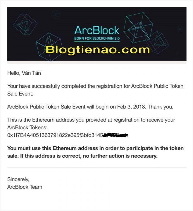 Hướng dẫn đăng ký tài khoản ArcBlock. Ảnh 8