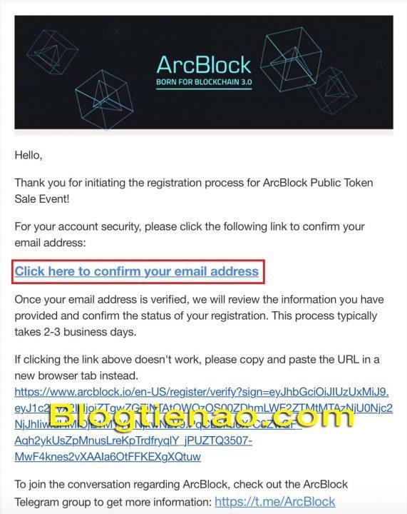 Hướng dẫn đăng ký tài khoản ArcBlock. Ảnh 3