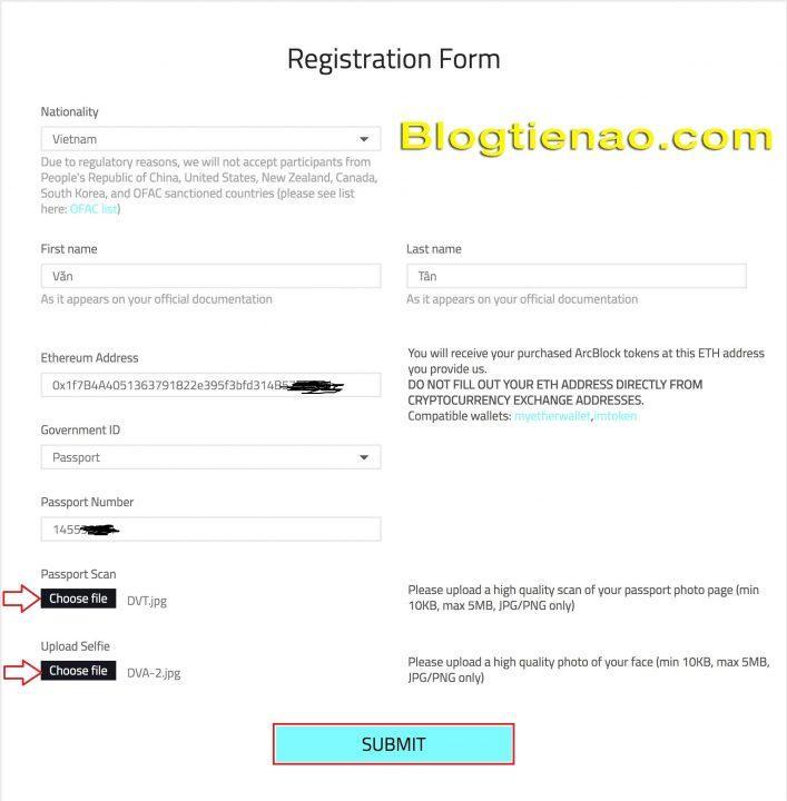 Hướng dẫn đăng ký tài khoản ArcBlock. Ảnh 5