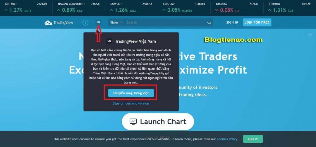 Hướng dẫn cách đăng ký tài khoản TradingView. Ảnh 2