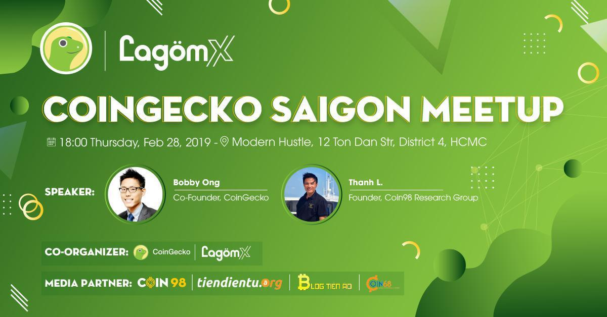 COINGECKO SAIGON MEETUP