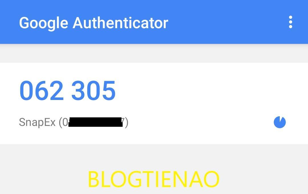 Mã Google Authenticator