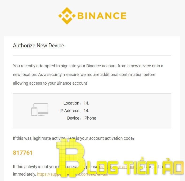 Authorize new Device