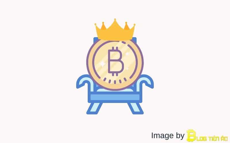 BTC là vua của các loại tiền ảo