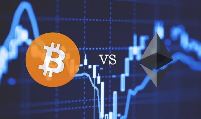 Đà tăng của Ethereum có thể ngăn chặn xu hướng giảm giá của Bitcoin?