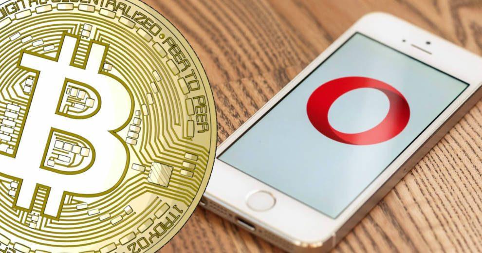 Trình duyệt Opera cho phép người dùng mua tiền điện tử trực tiếp