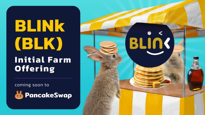 Pancakeswap IFO BLINK