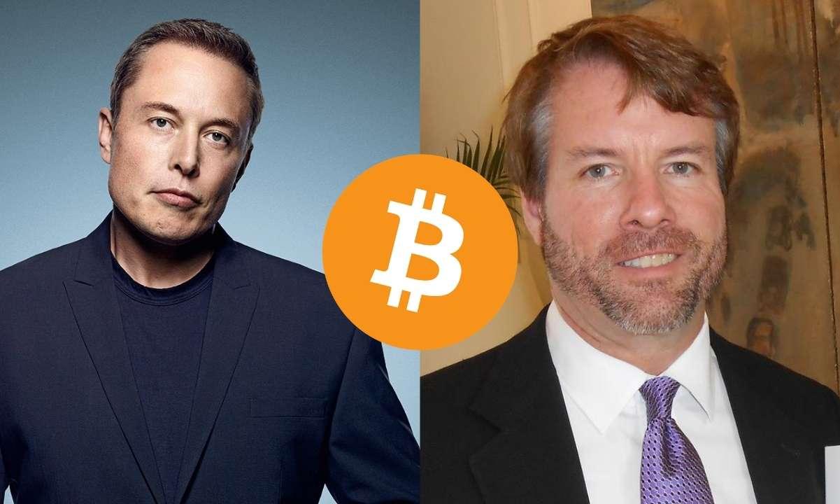 Elon Musk và Micheal Saylor