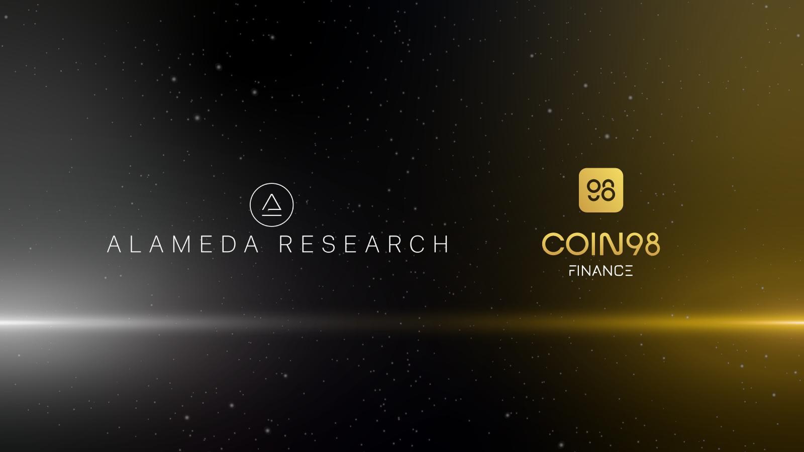 Alameda Research đầu tư 4 triệu USD vào Coin98 Finance
