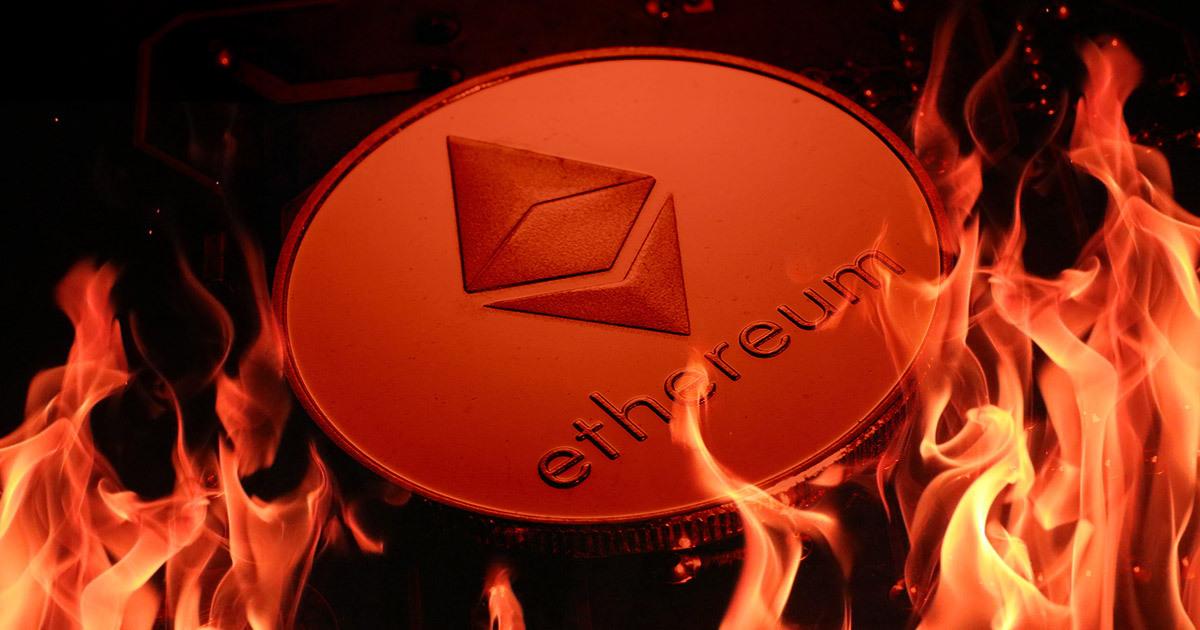 Hơn 135 triệu USD ETH đã bị đốt, giá chạm mức cao nhất trong 7 ngày