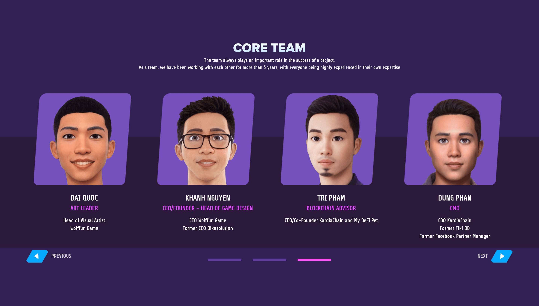 Thetan Arena Team 3