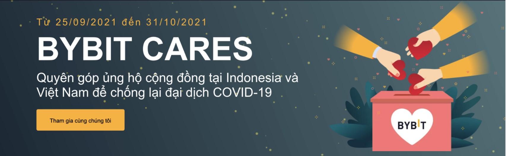 Bybit chung tay hỗ trợ cộng đồng Việt Nam và Indonesia bị ảnh hưởng bởi Covid-19